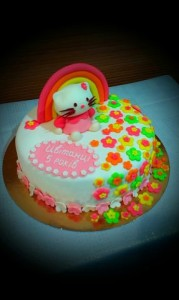 Торт для девочки Китти