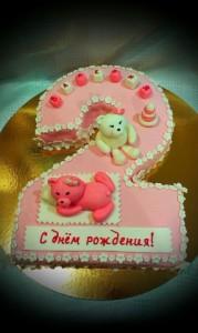 Торт на два года