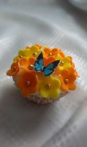 капкейки бабочка