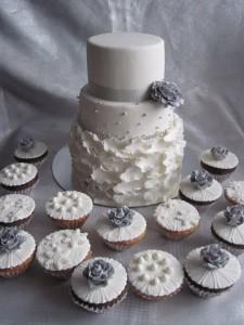 капкейки и торт на свадьбу запорожье