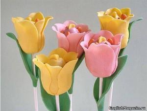 кейкпопс цветы