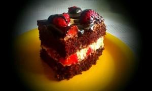 Начинка шоколадного торта