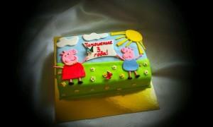торт Свинка Пепа на заказ