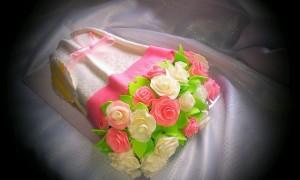 торт букет для женщины