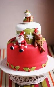 торт дед мороз на новый год на заказ запорожье