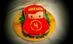 торт для мальчика Маквин
