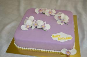 торт для женщик Фаленопсис