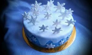 торт для женщин зимний