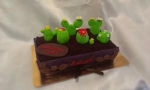 торт кактусы