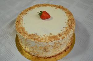 торт клубничка на заказ в запорожье