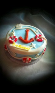 торт моряку на заказ