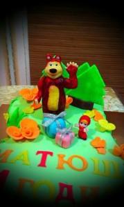 торт на годик13