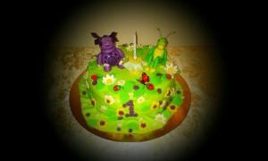 торт на годик4