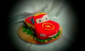 торт на заказ маквин