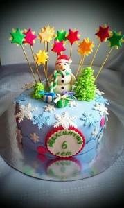 торт на заказ новый год