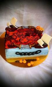 торт на заказ пираты