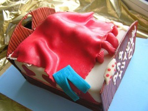 торт на заказ влюбленным