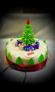 торт новый год запорожье