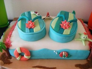 торт под заказ пляж