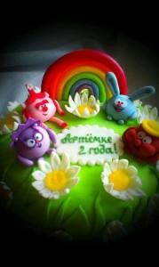 торт смешарики 2