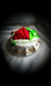 торт виноградарю