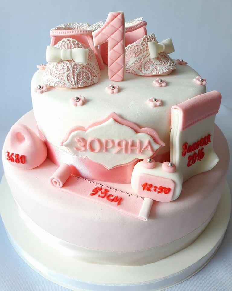 Фото детский торт на день рождения для девочки своими руками 56